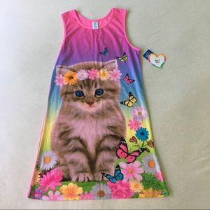 Other - Girls Kitten Night Gown